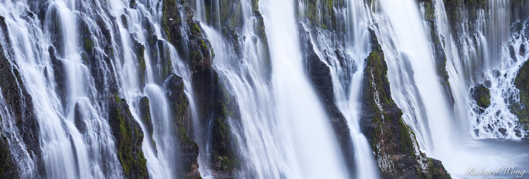 Burney Falls Panoramic, MacArthur-Burney Falls Memorial State Park, California, photo, photo