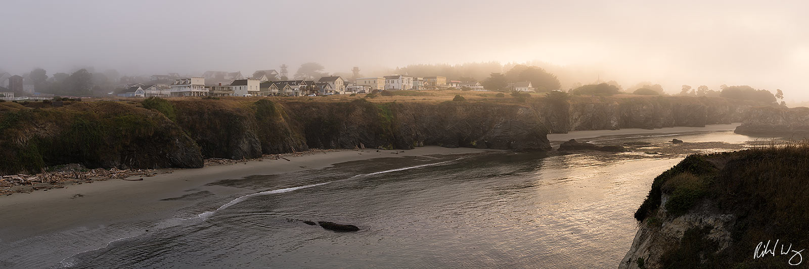 Mendocino Panoramic, California Limited Edition of 10 Prints A popular weekend destination for San Francisco Bay Area residents...