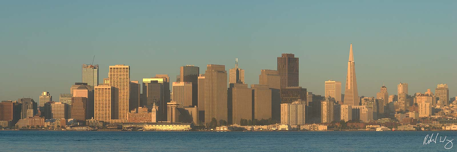 Downtown San Francisco Panoramic, Treasure Island, California Limited Edition of 10 Prints Arguably the tech capital of the world...