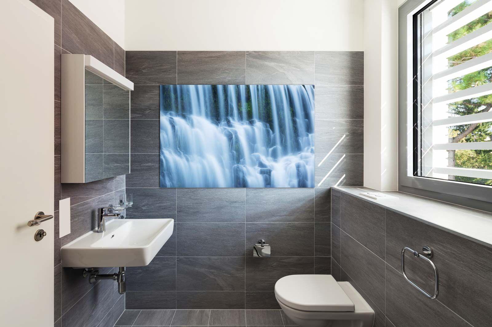 Abstract Bathroom Wall Art