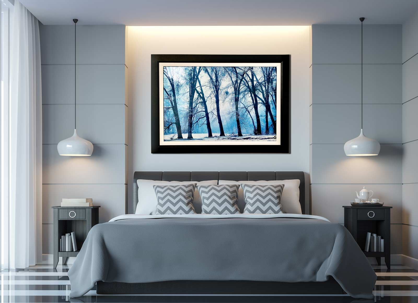 Bedroom Framed Art