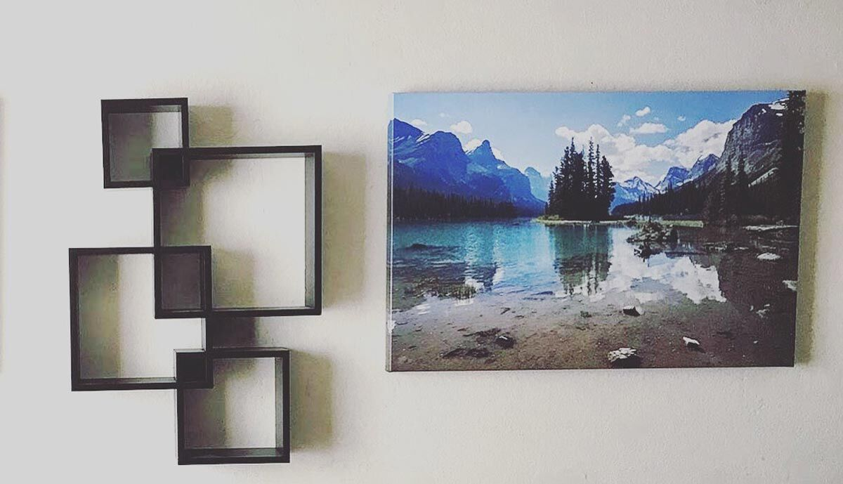 living room canvas wall art