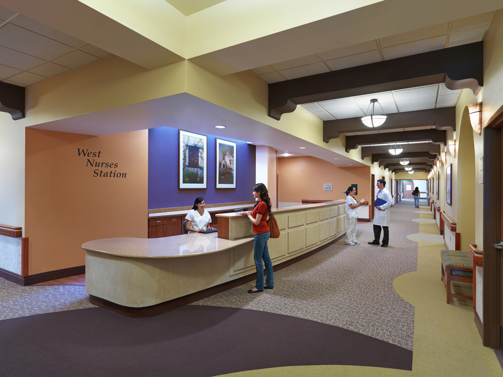 Loma Linda Rehab Center architecture photo thanks to Ryan Beck Photography