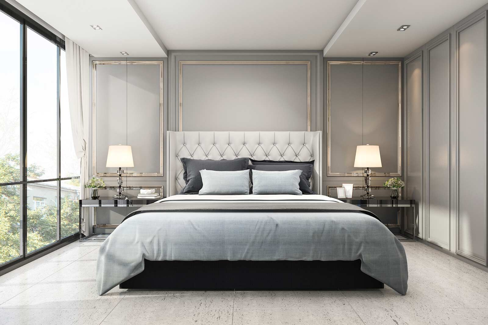 Luxury Bedroom Home Interior Design