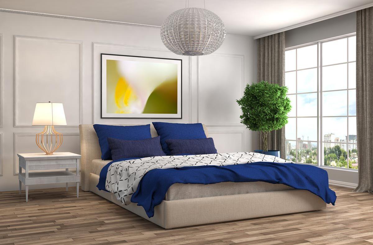 Silver Halide Fine Art Photography Print in Bedroom