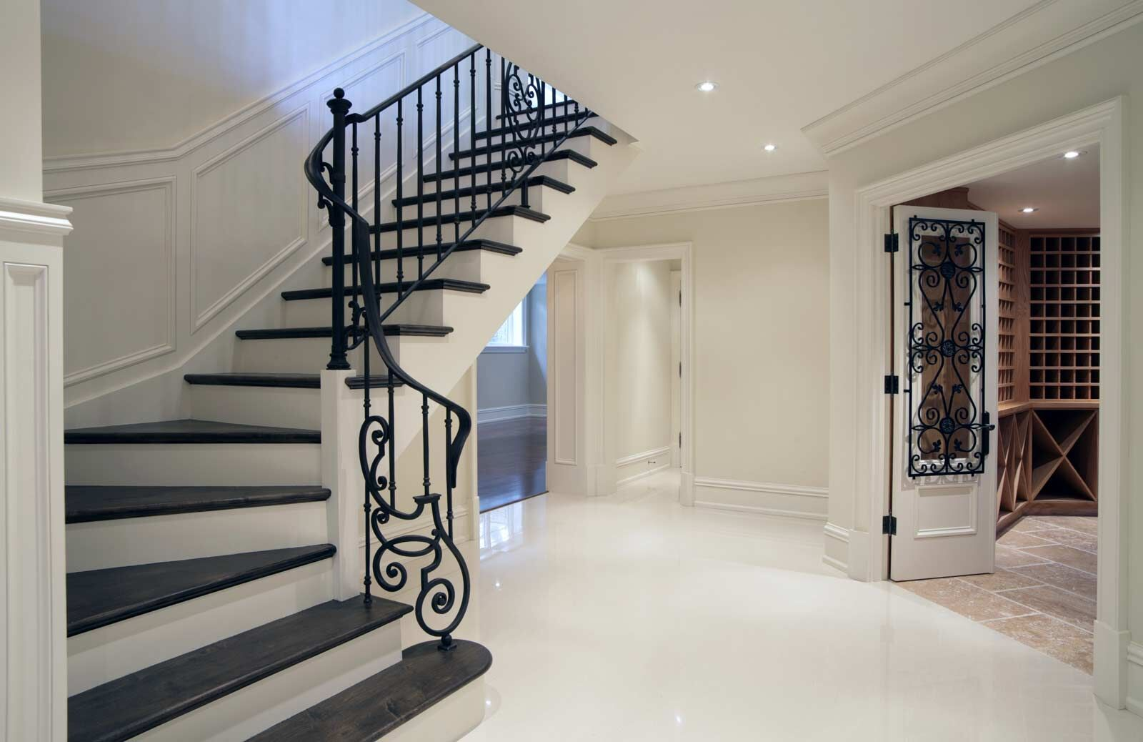 Mansion Staircase Home Interior Design